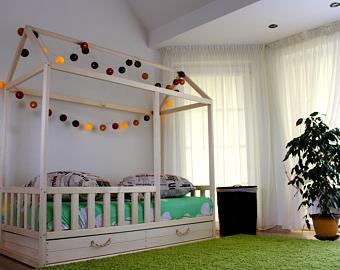 Kids bed | Etsy