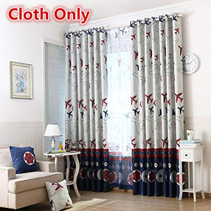 Amazon.com: WPKIRA Children Curtains Window Treatments Kids Cartoon