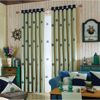 English Style Children Curtains Zebra Design Curtains - Buy Latest