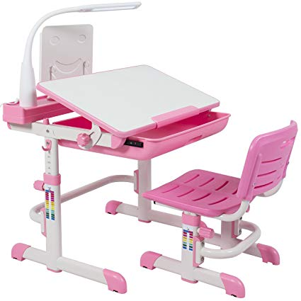 Amazon.com: Best Choice Products Height Adjustable Childrens Desk