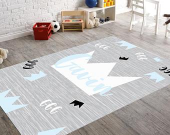 Childrens rugs | Etsy