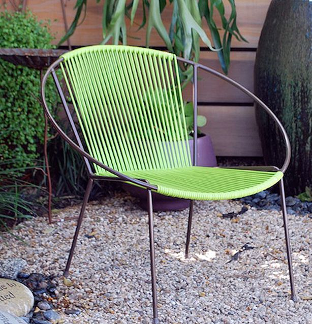 Hoop-Chair | Furniture | Pinterest | Modern classic, Steel frame and
