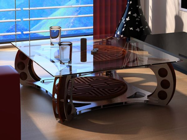 Classy Li Nim coffee table by Marius Scott u2013 Hometone u2013 Home