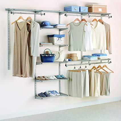 Amazon.com: Rubbermaid Configurations Deluxe Custom Closet Organizer