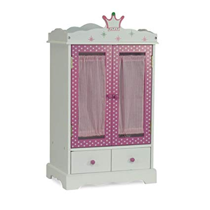 Amazon.com: 18 Inch Doll Closet Wish Crown | Doll Clothes Storage
