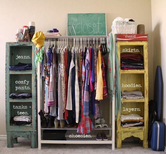10 Alternative Clothing Storage SolutionsDIY Closets