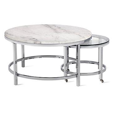 Vincente Coffee Table - Set Of 2 | Hampstead Vincente Living Room