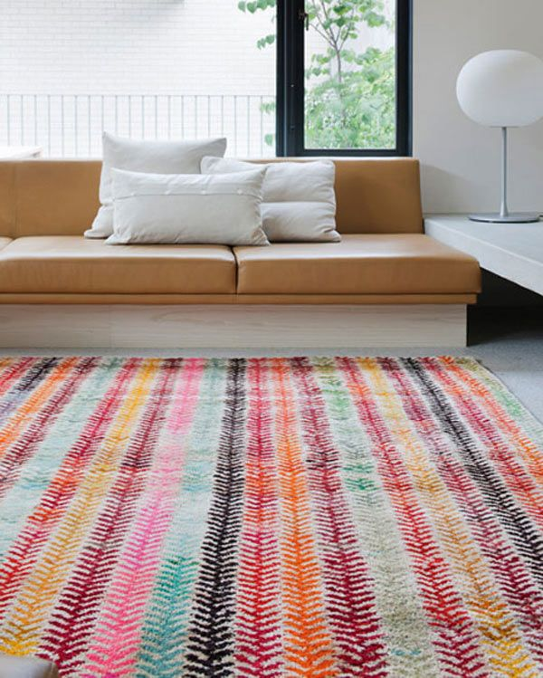 18 Rooms with Colorful Rugs
