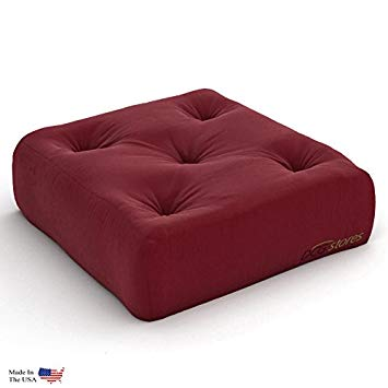 Amazon.com: Plush, Comfortable 8-Inch Futon Chair Ottoman Mattress