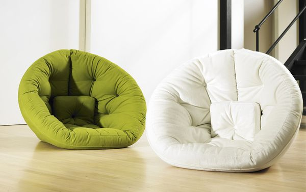 Comfortable Nest for Small Spaces | averys room | Pinterest | Futon