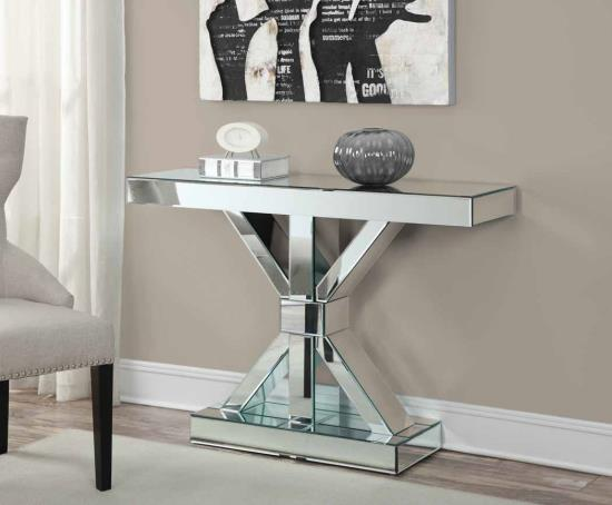 Mirror Contemporary Console Table - Shop for Affordable Home