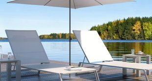 Modern White Patio Umbrellas   AllModern