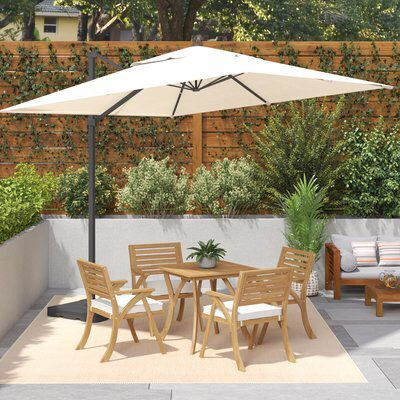 10' Square Cantilever Umbrella | Lindsay Style // Outdoor