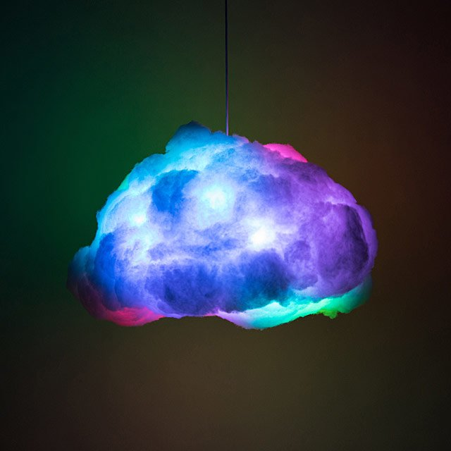 RGB Cloud Lamp | LEDs, Cool Lamps | UncommonGoods