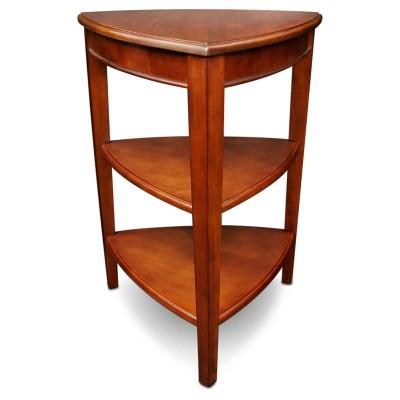 Shield Tier Corner Table - Glazed Auburn - Leick Home : Target