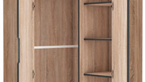 Delta 2 Door Corner Wardrobe Cupboard - Top Quality !