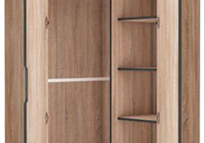 Delta 2 Door Corner Wardrobe Cupboard - Top Quality !