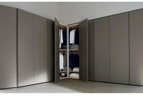 Grey Corner Wardrobe, Rs 17000 /piece, P.N.A. Furniturre | ID