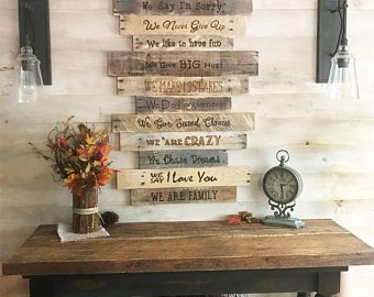 Country home decor | Etsy
