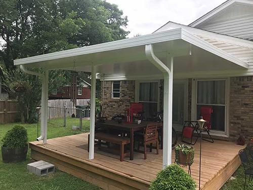 Patio and Awning Covers | Memphis, TN | Maclin Security Doors