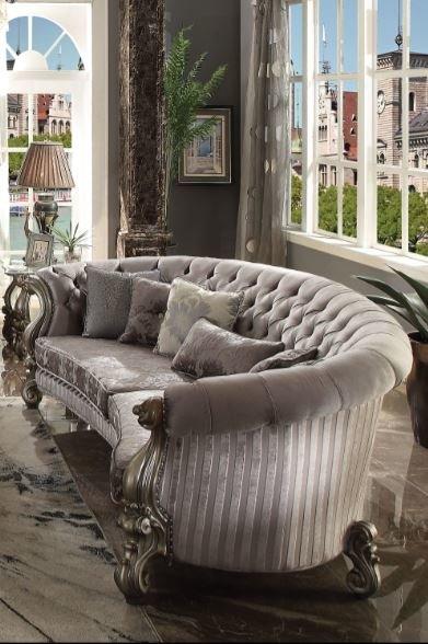 Astoria Grand Bermuda Curved Sofa   Wayfair