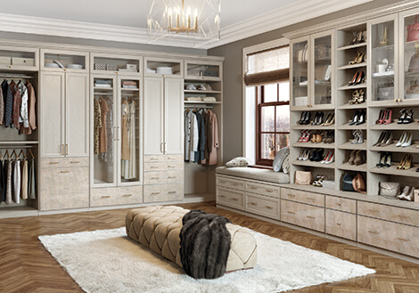 Greater New York Custom Closets & Closet Organization by California