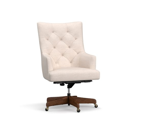 Office Chairs & Desk Chairs For Your Home Office   Pottery Barn