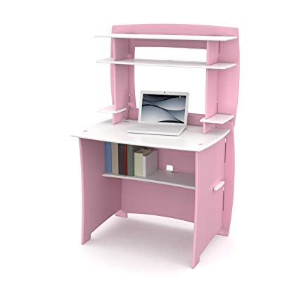 Amazon.com: Legare Kids Desk with Hutch, 36-Inch, Pink and White