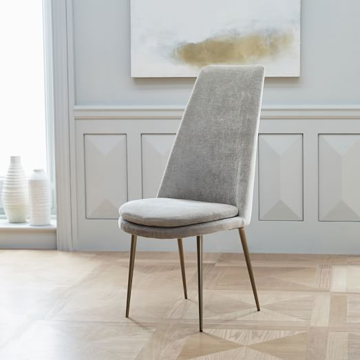 Finley High-Back Upholstered Dining Chair | west elm