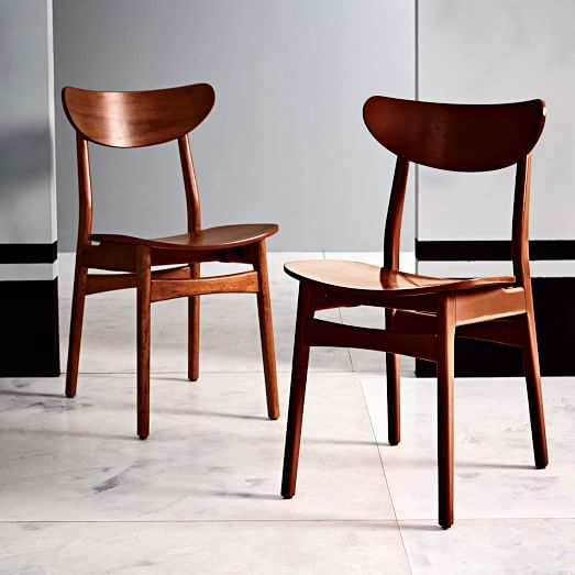 Classic Café Walnut Dining Chair | west elm