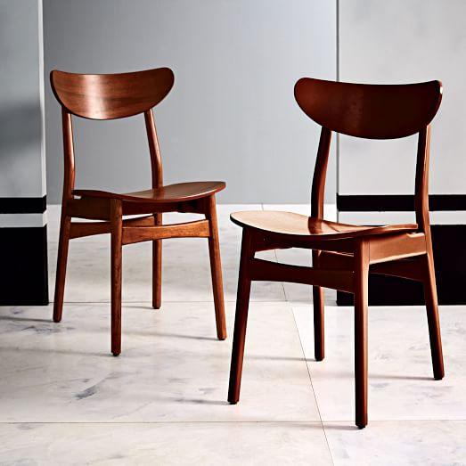 Classic Café Walnut Dining Chair | west elm