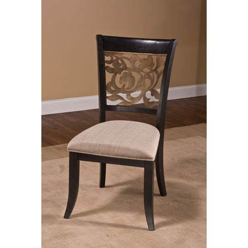 Hillsdale Furniture Bennington Black Dining Chair, Set Of 2 5559 802
