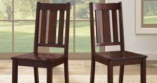 Better Homes and Gardens Bankston Dining Chair, Set of 2, Mocha