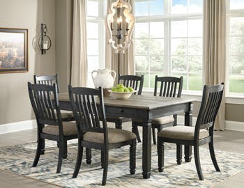 Ashley Tyler Creek Rectangular Dining Room Table D736-25 - Portland
