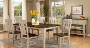 7-Pc. Dining Room Set | Cardi's Furniture & Mattresses