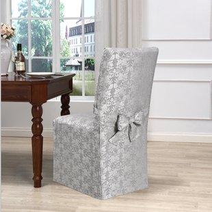 Skirted Dining Chair Cover | Wayfair