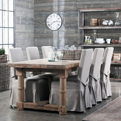 Dining chair slip covers | Slip Cover Genius | Dining room chairs