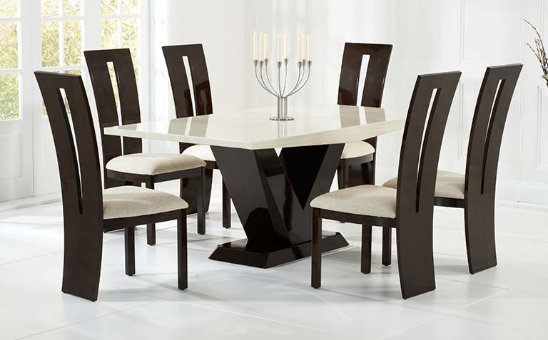 Marble Dining Table Sets cheap round tables and chairs
