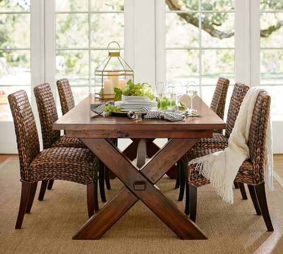 Toscana Extending Dining Table, Seadrift | Pottery Barn