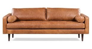 Brown Distressed Leather Sofas You'll Love | Wayfair
