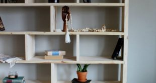 How to Build a Simple Modern DIY Bookshelf