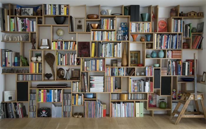 DIY: Bookshelf Systems, One Easy, One Difficult - The Organized Home