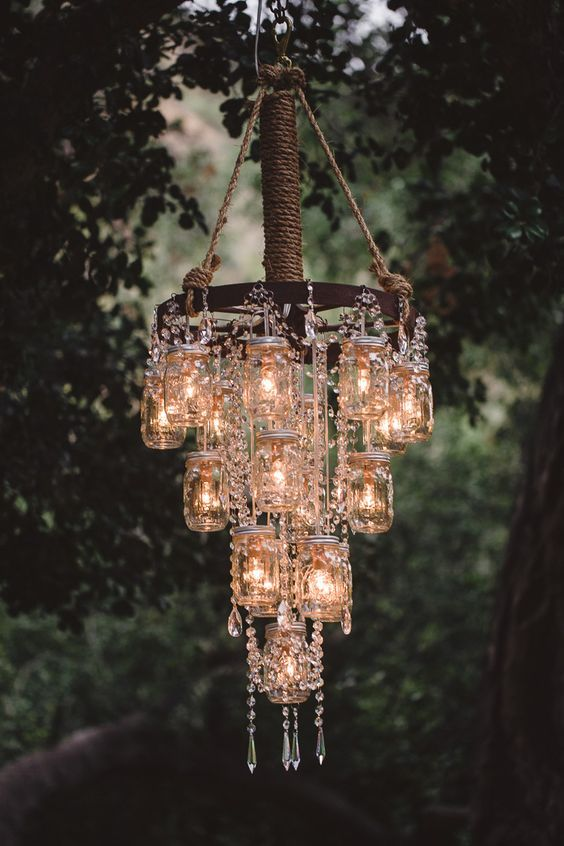 Make A DIY Chandelier Easily With These Ideas | DIY home decor