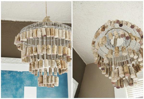 16 Genius DIY Lamps and Chandeliers To Brighten Up Your Home - DIY