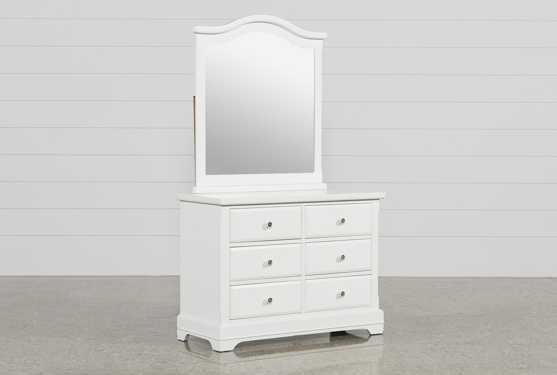 Bayfront Dresser/Mirror | Living Spaces
