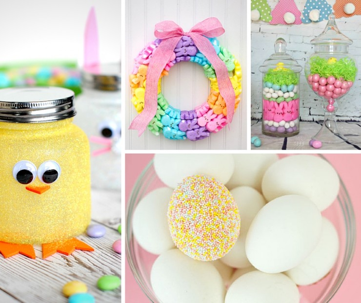 35+ Gorgeous Easter Decorations - Frugal Mom Eh!