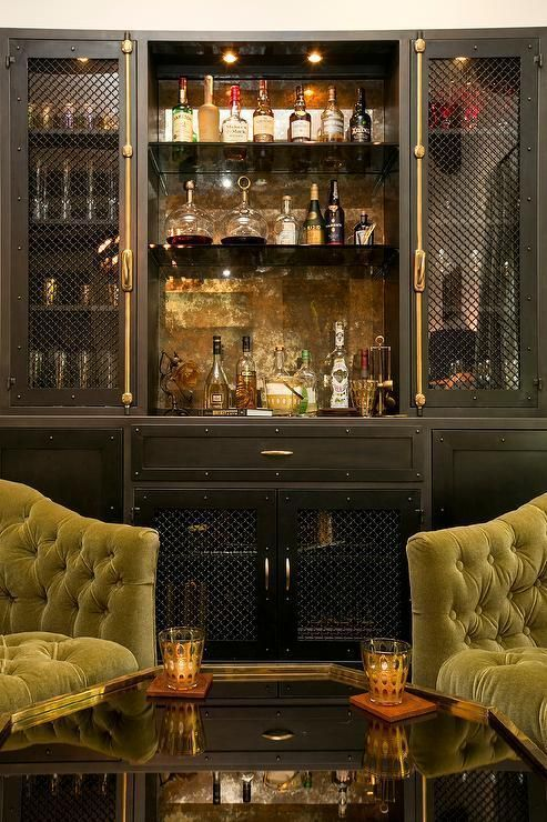 Elegant and Luxurious Design Ideas for Your Home Bar in 2019 | Home