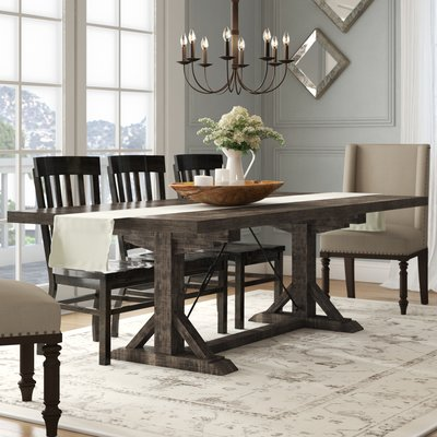 Laurel Foundry Modern Farmhouse Mcwhorter Extendable Dining Table