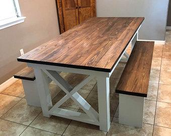 Farmhouse table | Etsy
