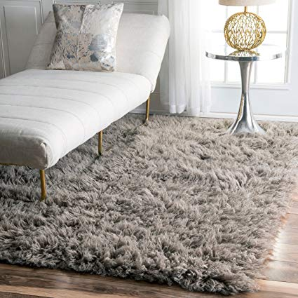 Amazon.com: nuLOOM Hand Woven Genuine Greek Flokati Rug, Natural